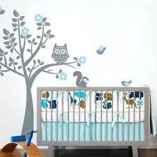 arbre chambre bébé stickers chambre enfant chouette stickers muraux arbre arbre dcalque