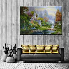 Art Decoration For Home by Compare Prices On Paradise Landscape Online Shopping Buy Low