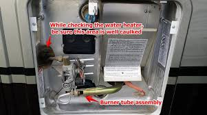 Gas Water Heater Pilot Light Rv Water Heater Troubleshooting Simple Maintenance Will Save You