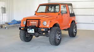 samurai jeep for sale 1988 suzuki samurai youtube