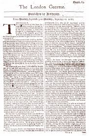 news paper writing great fire of london transcript