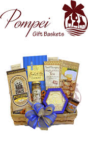 Gourmet Gift Basket A Simple Gourmet Gift Basket By Pompei Baskets