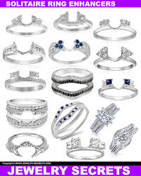 engagement ring enhancers solitaire engagement ring enhancers jewelry secrets