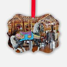 carousel ornament cafepress