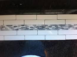 kitchen backsplash accent tile or no