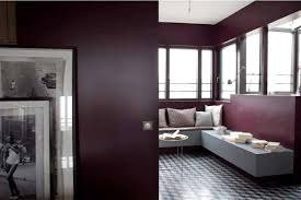 peinture prune chambre chambre couleur prune avec un m lange prune et gris galerie photo