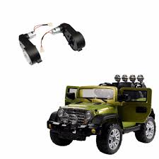 kids electric jeep 2pcs set 12v 23000rpm rs550 dc motor gearbox for jeep electric