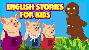 english stories kids learning stories pigs