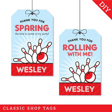 8 best images of bowling party favor free printables free