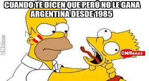 Argentina Memes - per禳 vs argentina estos son los divertidos memes que deja el