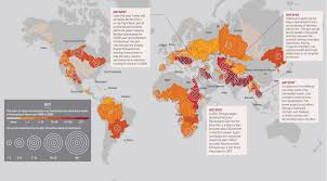 World Map Rivers by Where Will The World U0027s Water Conflicts Erupt Infographic