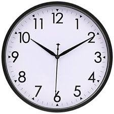 silent wall clocks wall clocks with features non ticking silent sweep ebay