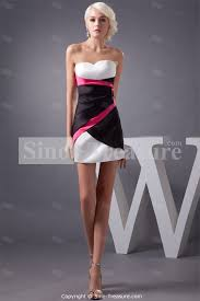 black white and pink dresses cocktail dresses 2016