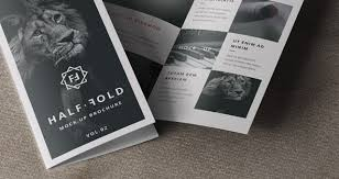 two fold brochure template psd 8 bi fold brochure mock up psd images bi fold brochure template