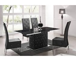table et chaises salle manger table de salle a manger design table ronde cuisine maisonjoffrois