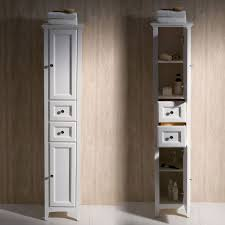white linen cabinet with doors furniture 15 wide bathroom linen cabinet linen tower with doors