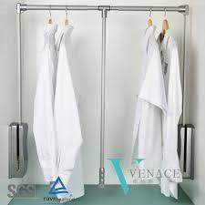 Bedroom Furniture Hardware by Bedroom Furniture Hardware Clothes Hanger Rack Pull Down Wardrobe