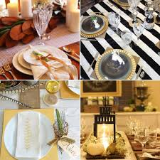thanksgiving table setting ideas from instagram popsugar home modern