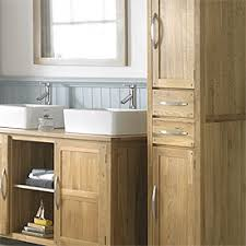 Bathroom Furniture Oak Oak Bathroom Cabinet Eizw Info