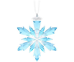 frozen snowflake ornament decorations swarovski shop