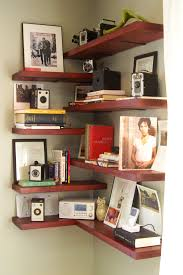 valuable inspiration corner shelf for living room brilliant design