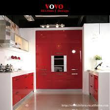 online get cheap kitchen cabinet red gloss aliexpress com