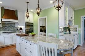 Eat In Kitchen Island Classy White Rectangle Shape Kitchen Island Featuring White Marble