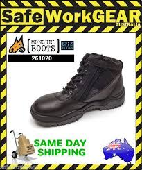 womens work boots uk mongrel womens work boots black safety steel toe cap zip side