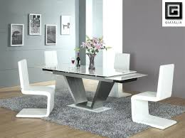 Glass Top Pedestal Dining Room Tables Glass Dining Room Table And Chairs Best Modern Glass Dining Room