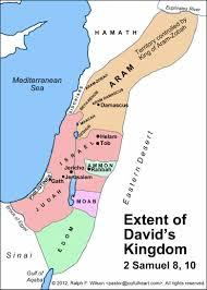 Gulf Of Aqaba Map Life Of David Maps And Graphics