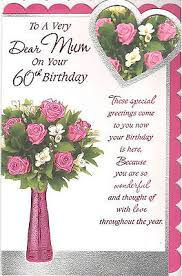 60th birthday cards for women collection on ebay