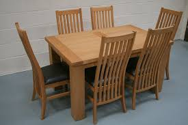 lovable oak dining table and chairs with designs solid oak dining