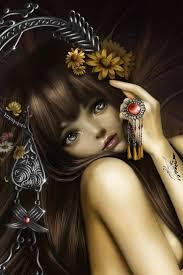 wallpaper 640x960 butterfly hair