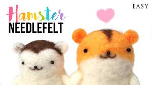 diy hamster felt kit warning extremely hamsters inside