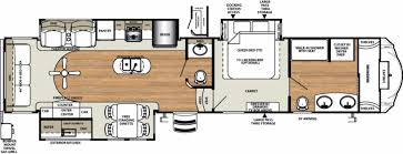 Bunkhouse 5th Wheel Floor Plans by Forest River 5th Wheel Floor Plans Home Design Inspiration