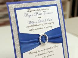 wedding invitation kits blue wedding invitations cheap royal blue diy wedding invitation