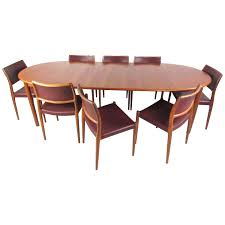 Mid Century Modern Homes For Sale Memphis by Mid Century Modern Danish Teak Dining Set With Model 80 N O
