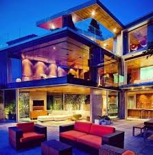 huge luxury homes big windows a must when i become a millionare pinterest