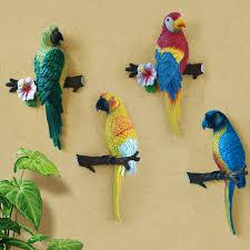 birds home decor big size lovely resin bird crafts artificial birds garden home
