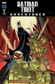 batman tmnt adventures 1 u2013 idw publishing