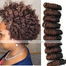 light in the box weave crochet bouncy curl 100 kanekalon hair human hair extensions hair
