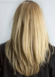 long shag hairstyle pictures with v back cut layered haircuts from the back view models v layers on pinterest