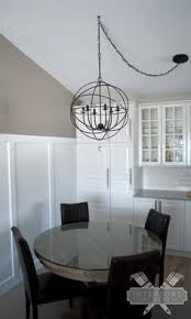 solution for off centered chandeliers clearly when my house was