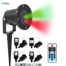 laser christmas lights outdoor ip65 waterproof red green outdoor