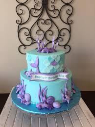 mermaid birthday cake girl birthday cake gallery