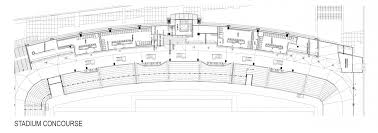 stadium floor plans crusader stadium cus master plan umhb the university of