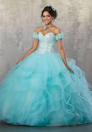 aqua quinceanera dresses strapless lace quinceanera dress by mori vizcaya 89174 abc fashion