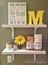 bathroom shelf decorating ideas best 25 yellow bathroom decor ideas on guest bathroom