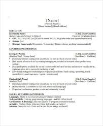Skills For Banking Resume Banking Resume Samples 45 Free Word Pdf Documents Download