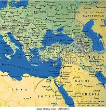middle east map medina map maps europe middle east stock photos map maps europe middle